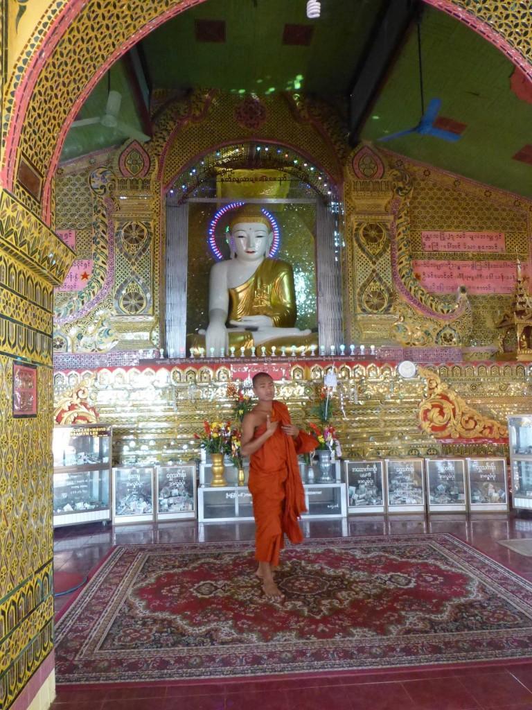 Внутри храма на холме