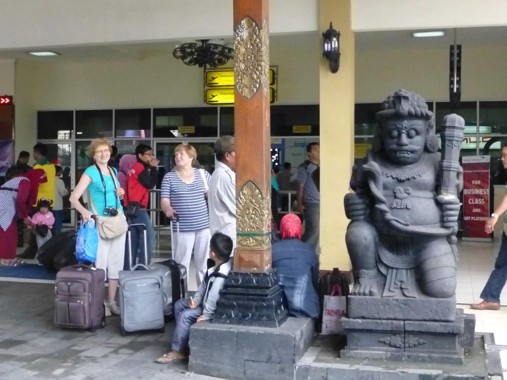 Прибыли в аэропорт Джогьякарты