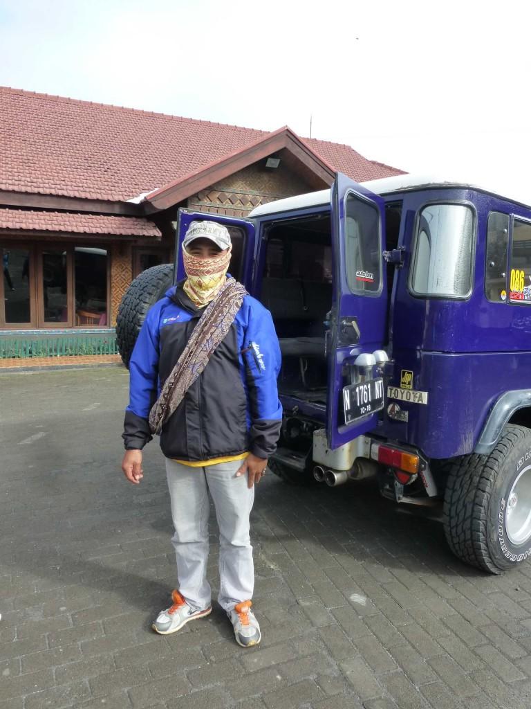 Наш водитель джипа