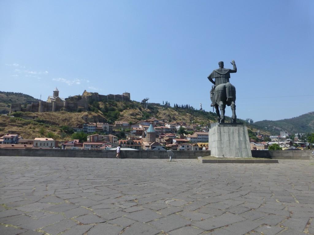 Памятник Вахгангу Горгасали