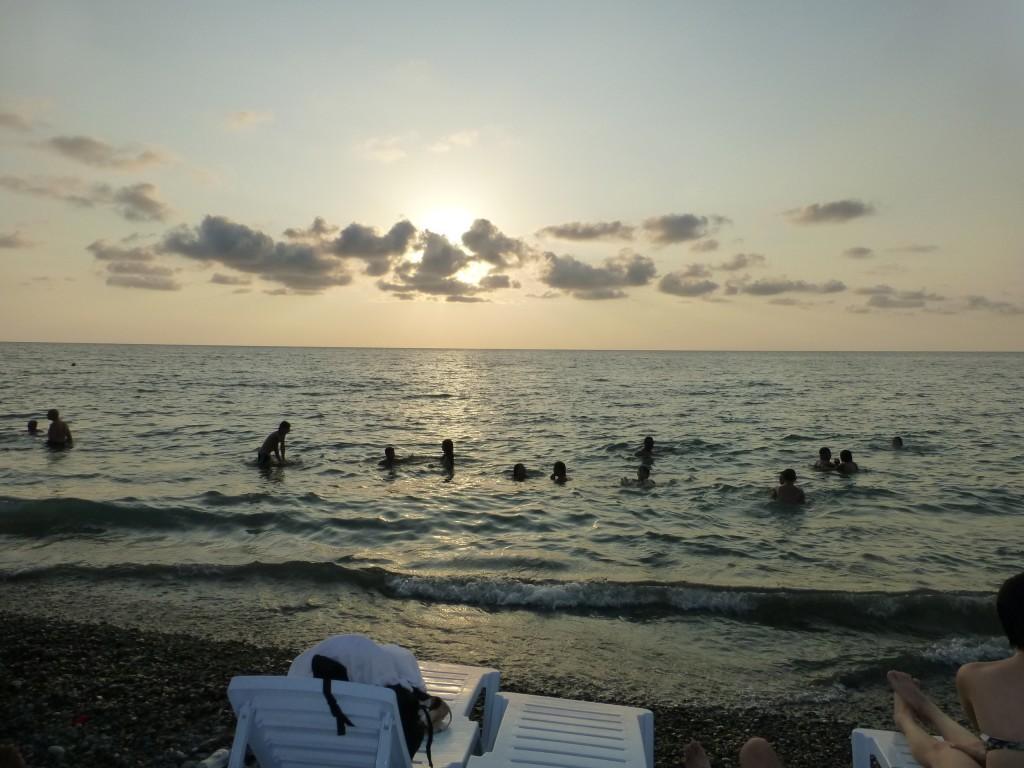 Море, первый вечер