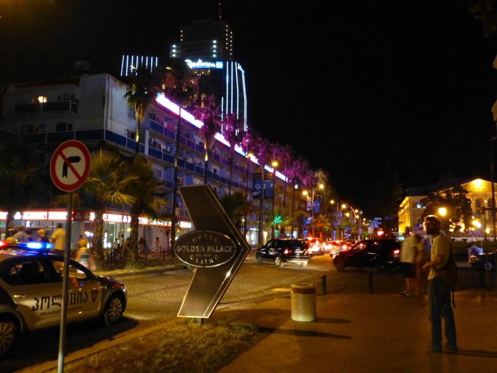 Ночной проспект Руставели
