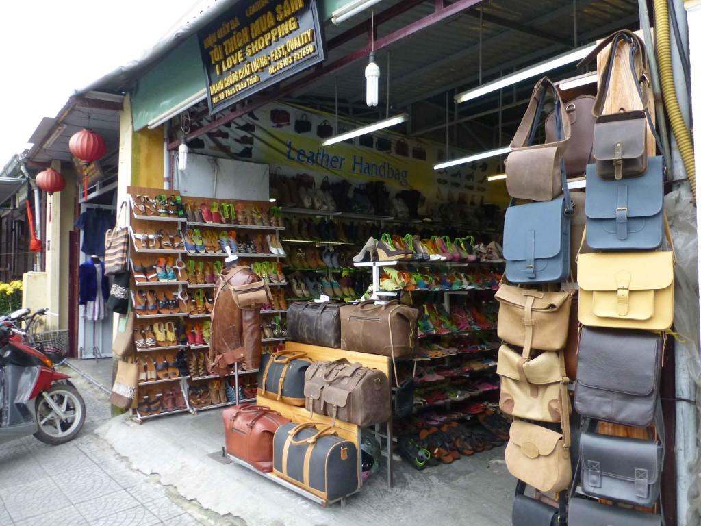 Магазин кожаных изделий кустарного производства