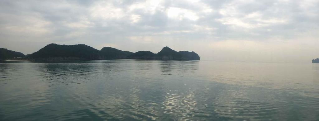 Утром в заливе