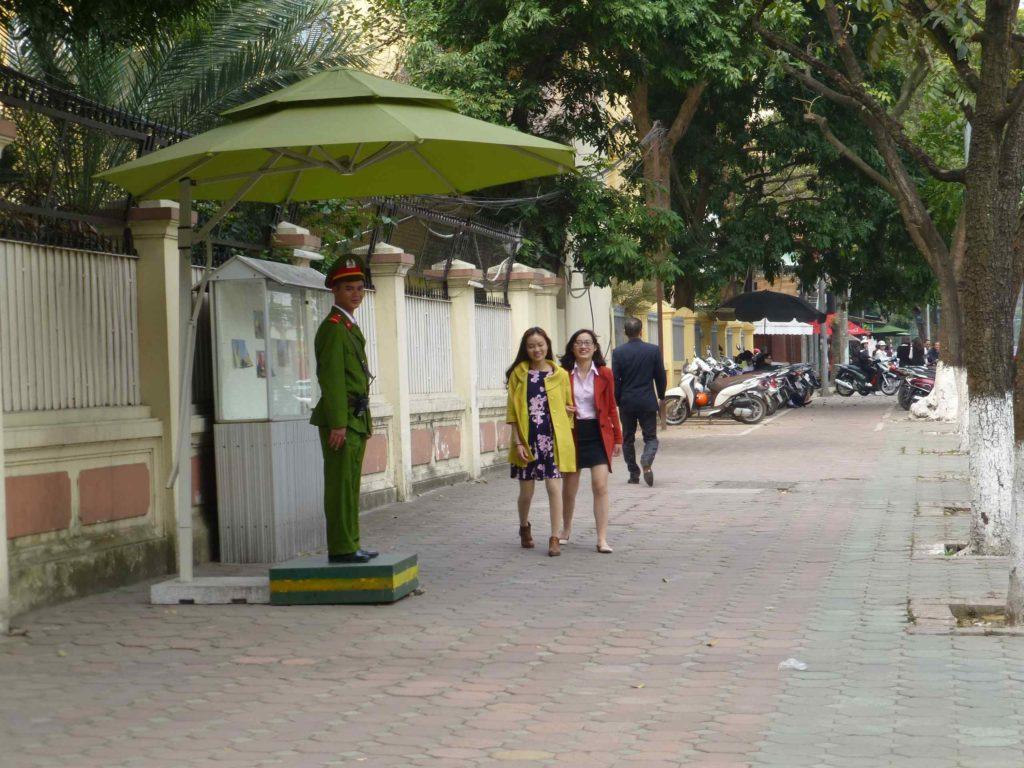На улицах Ханоя