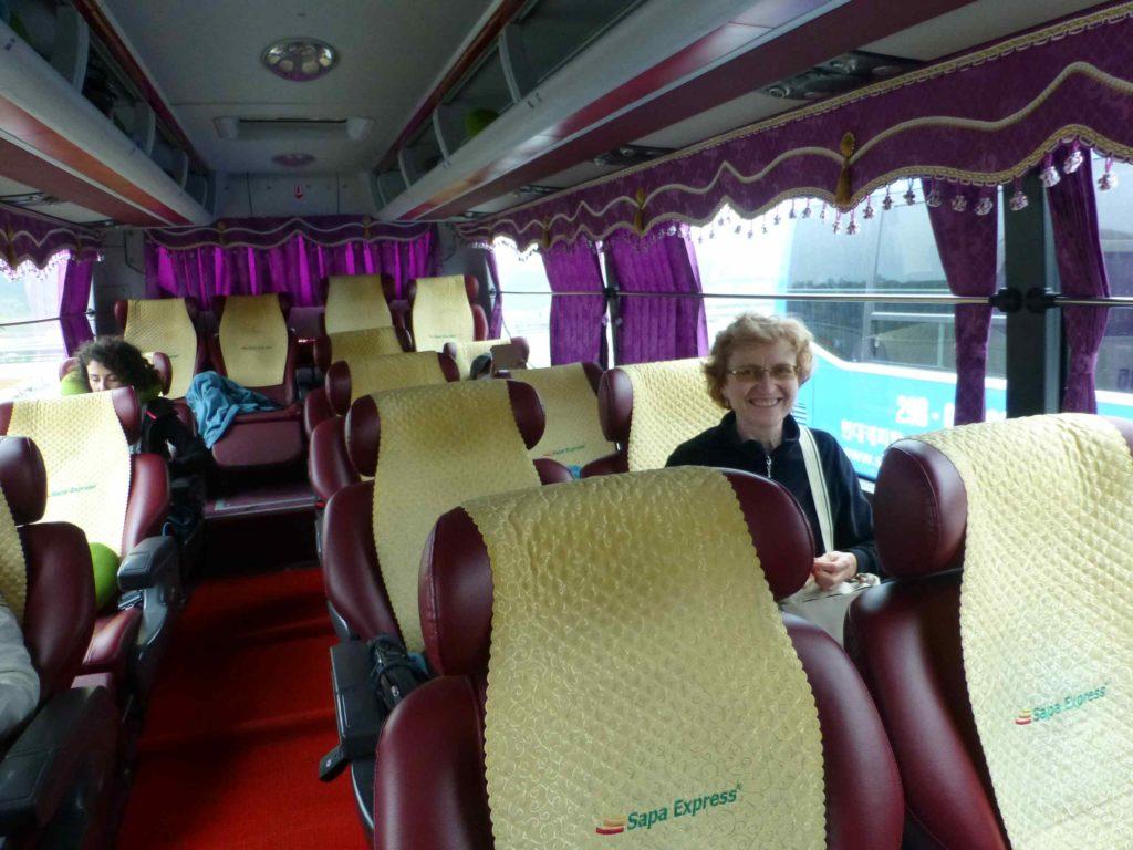 В автобусе Сапа-экспресс