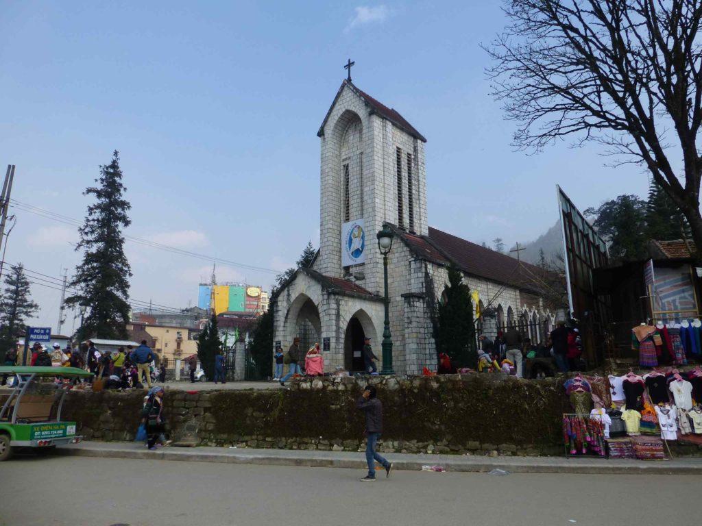 Церковь в центре Сапы