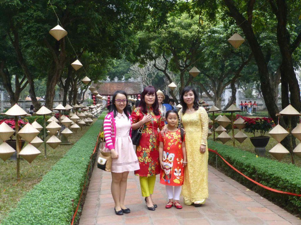 Вьетнамская семья
