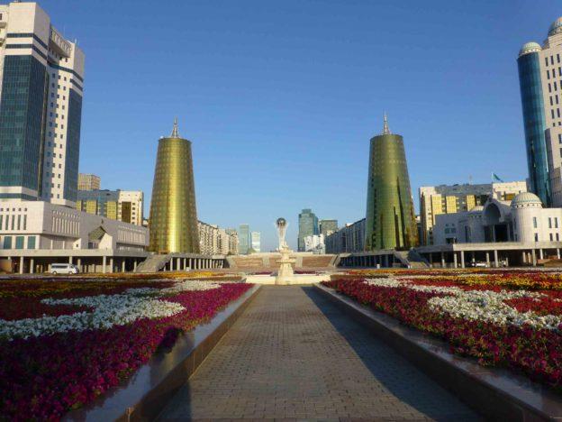 Поездка в столицу Казахстана Астану