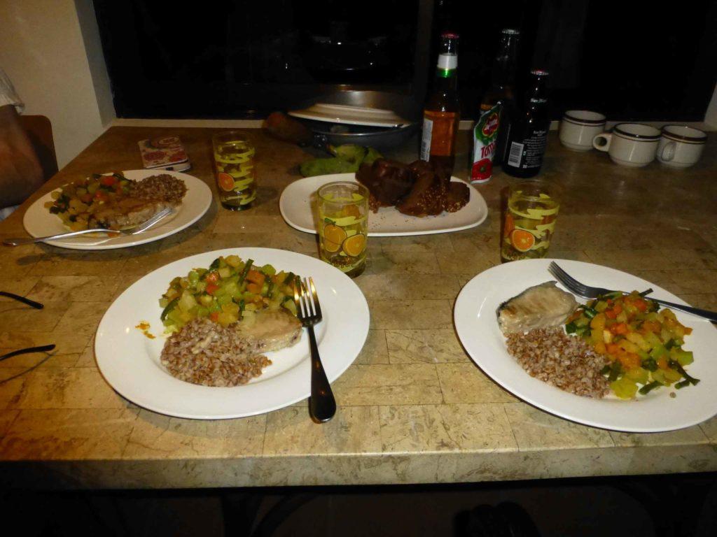 Первый ужин