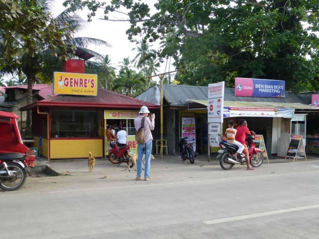 Улица в Панглао