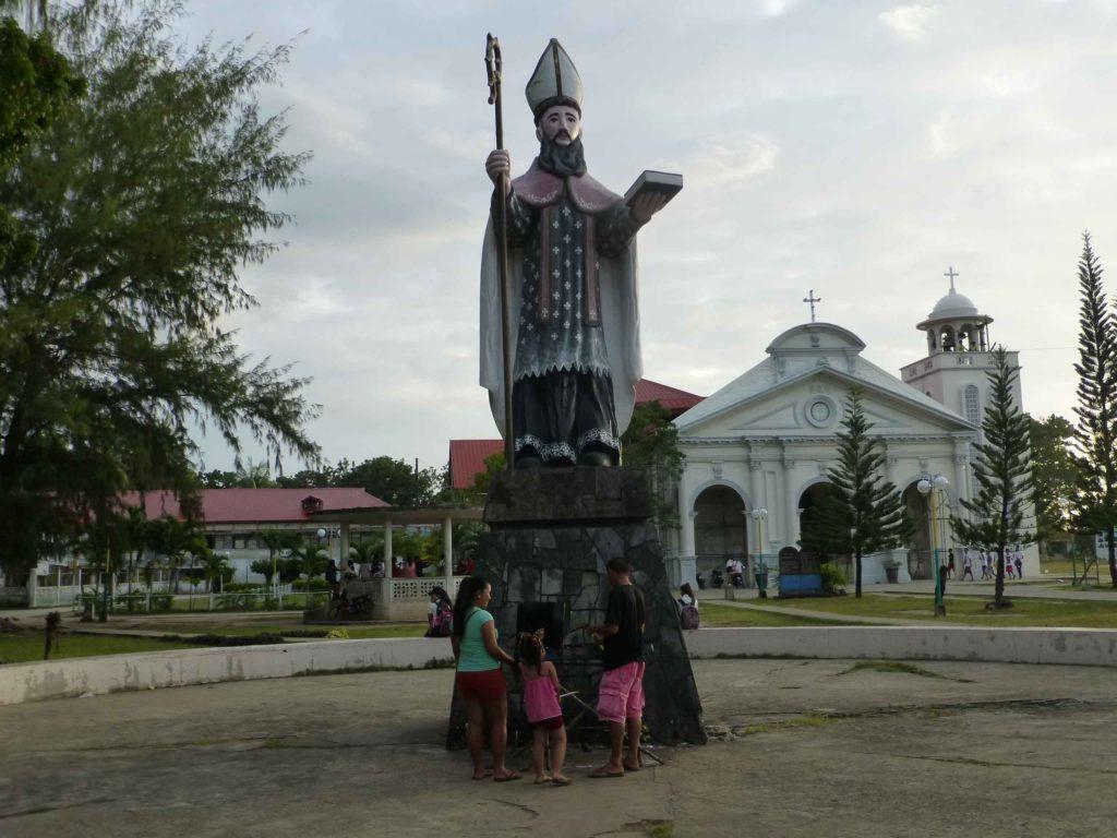 Статуя Св.Августина в Панглао