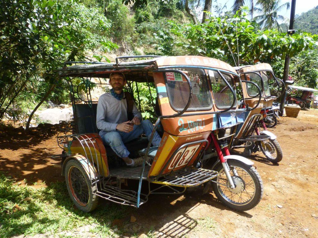 Такие трициклы в Думагете
