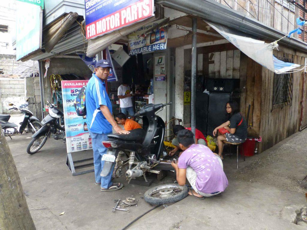 Мастерская по ремонту мотоциклов