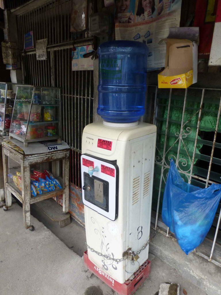 Автоматы с водой