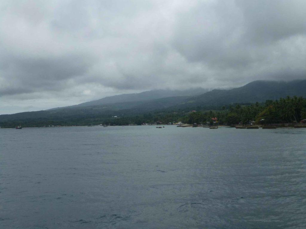 Плывем к острову Себу