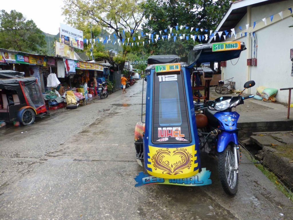 Трицикл на Себу