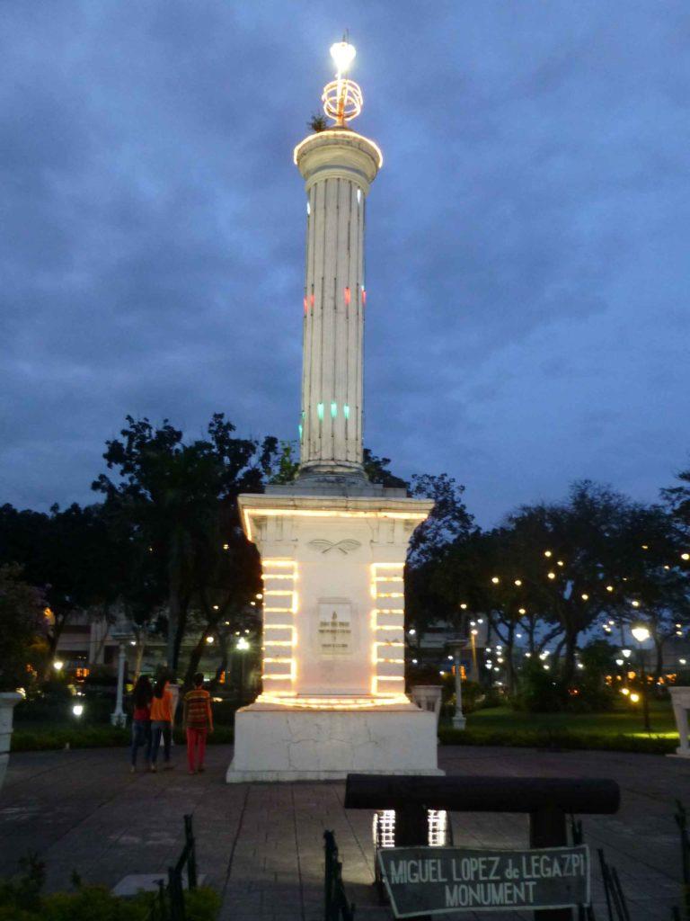 Памятник Легаспи
