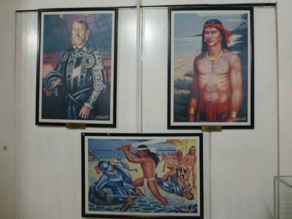 Галерея портретов, вождь Лапу-Лапу, убивший Магеллана