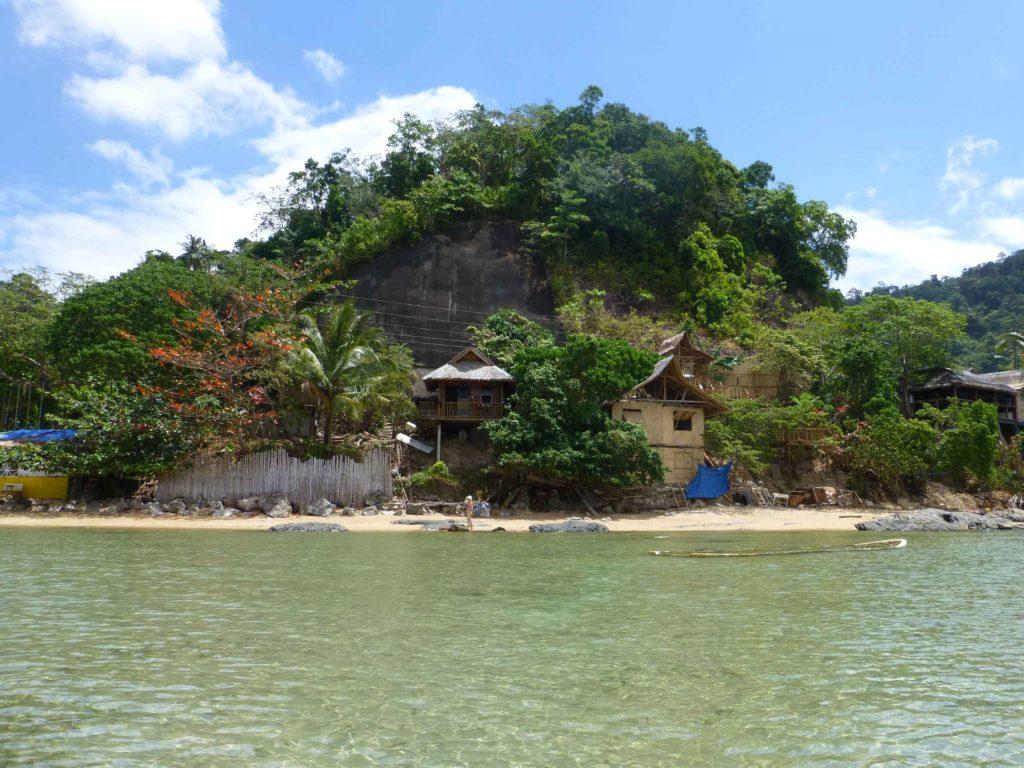 Дом рыбака с моря