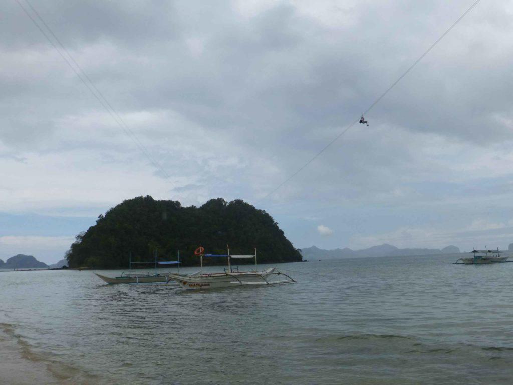 Зип-лайн на остров