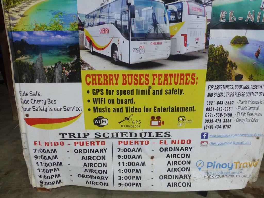 Расписание Cherry