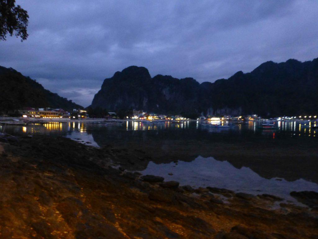 Пляж ночью