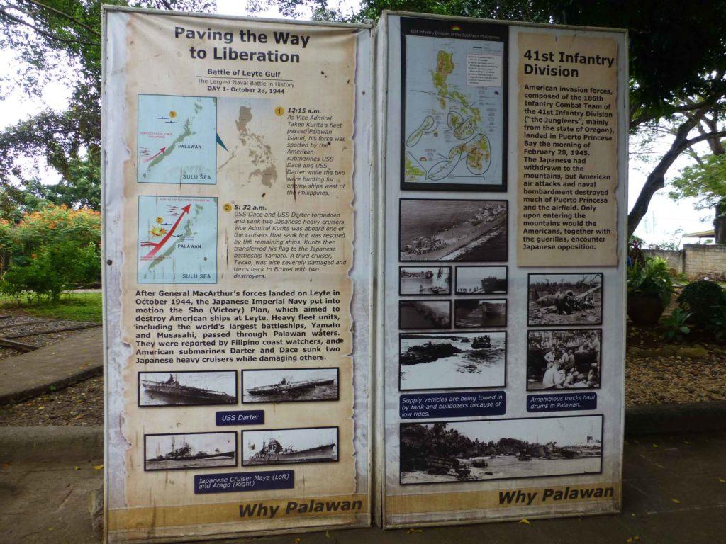 Описание военных действий по освобождению Палавана