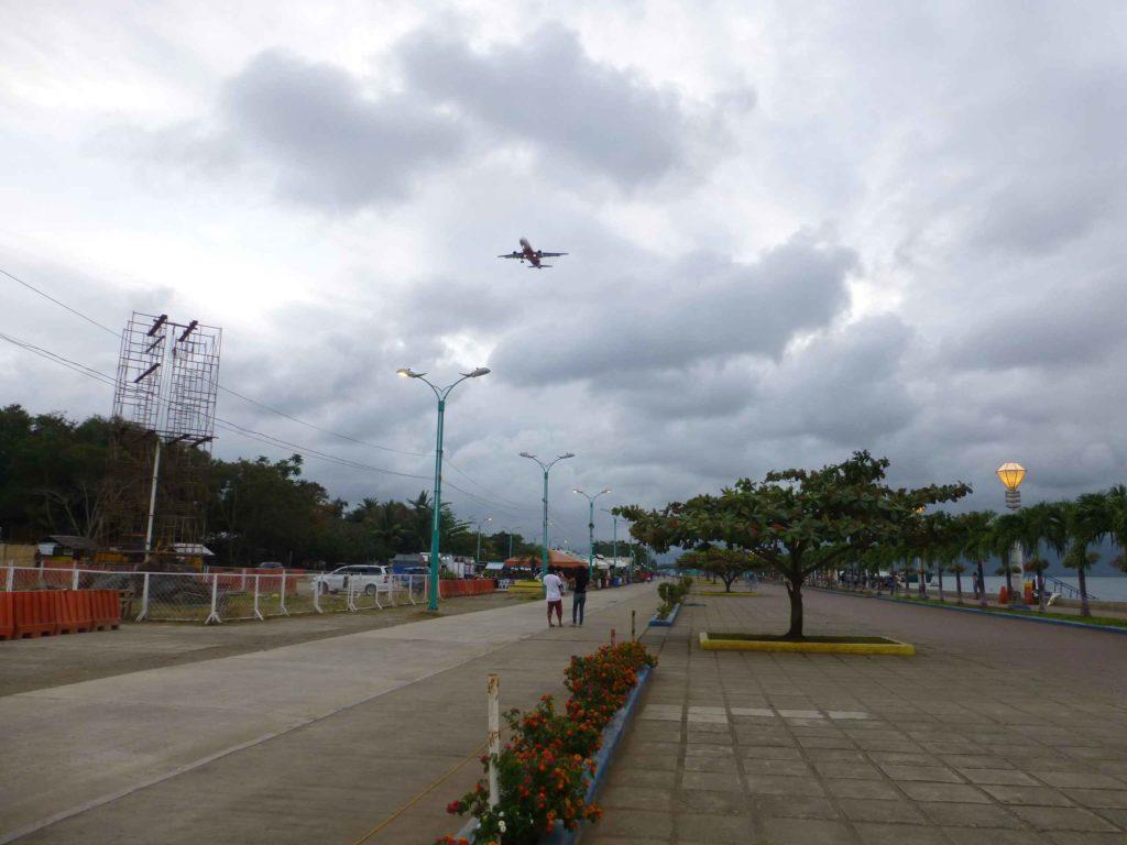 Самолеты заходят на посадку