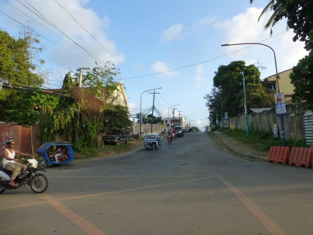 Перекресток улиц Малвар и Рохас