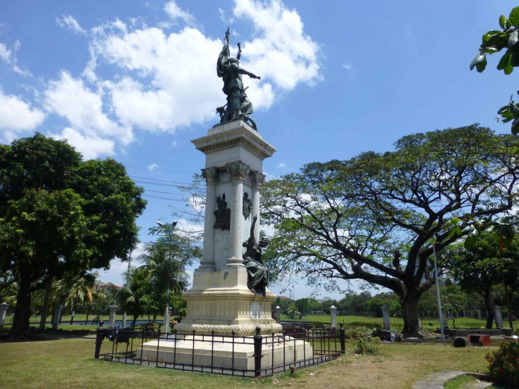 Памятник главному колонизатору Легаспи