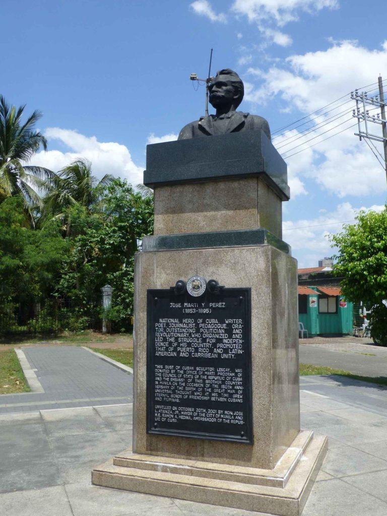 Памятник национальному герою Кубы Хосе Марти Пересу