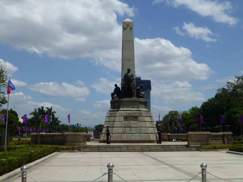 Памятник Хосе Ризалю