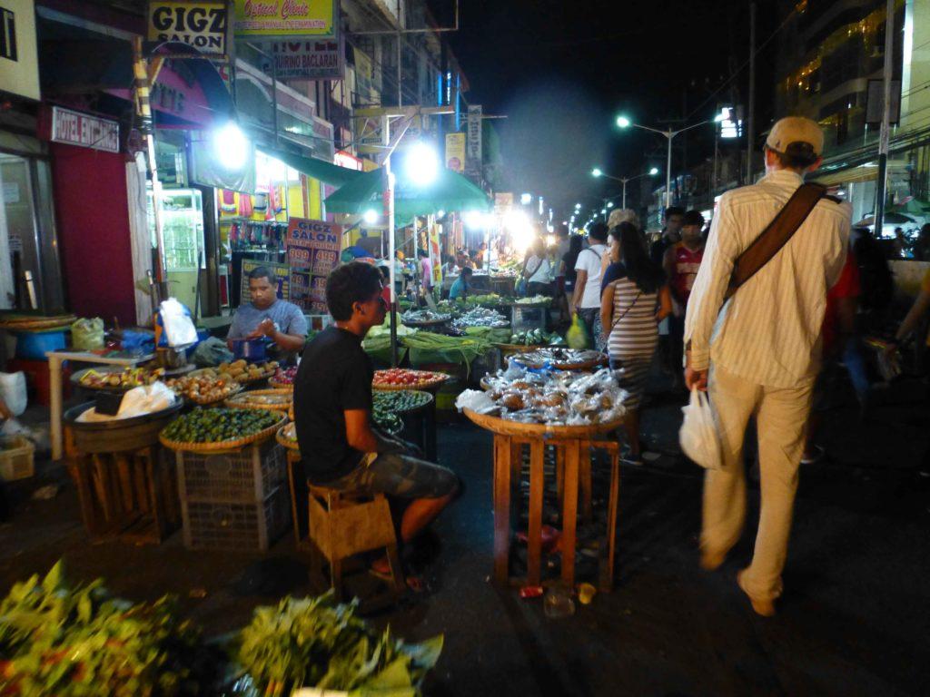 Вечерняя торговля