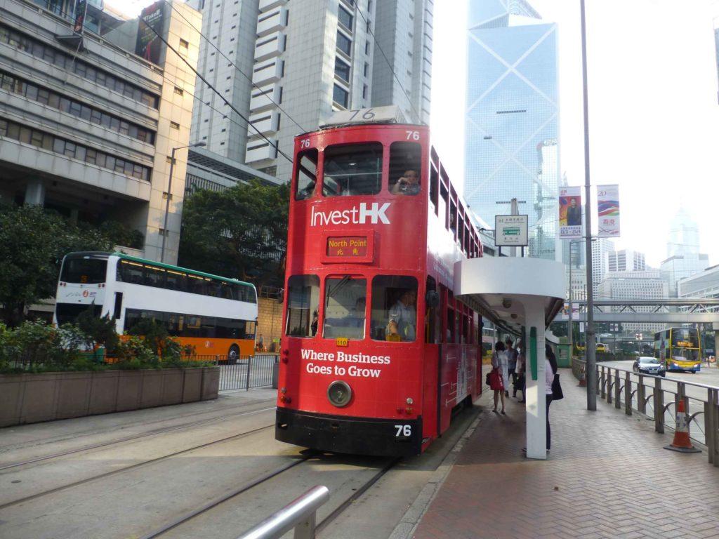 Двухэтажные трамваи