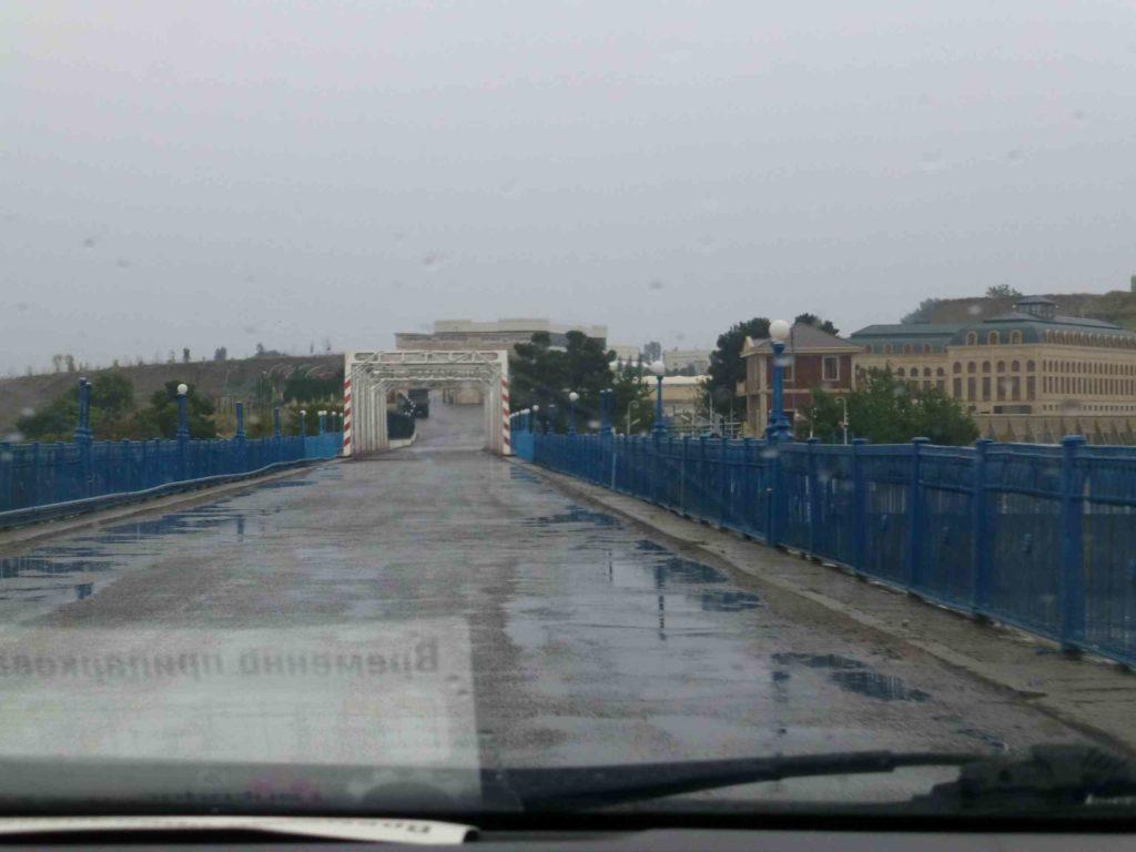 Впереди - граница Азербайджана