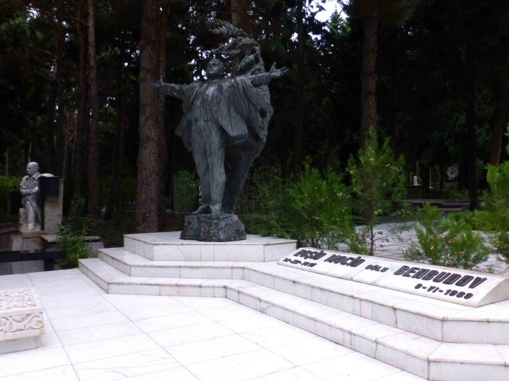 Могила Рашида Бейбутова