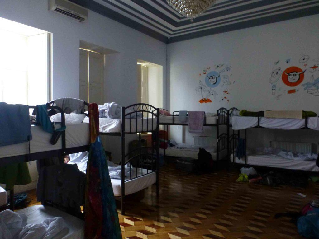 Спальня в хостеле