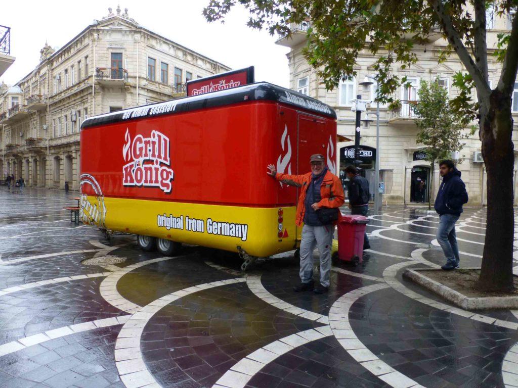Карл-Хайнц увидел знакомый бренд