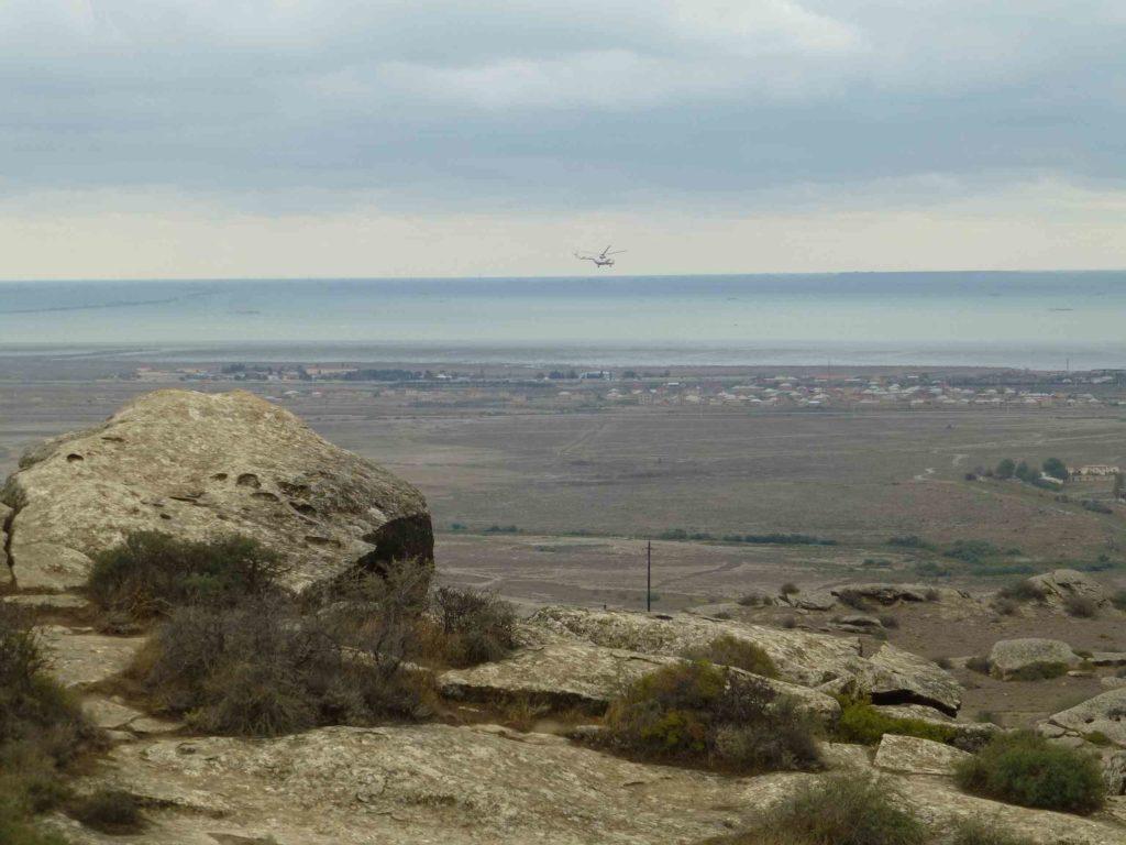 Вид в сторону моря