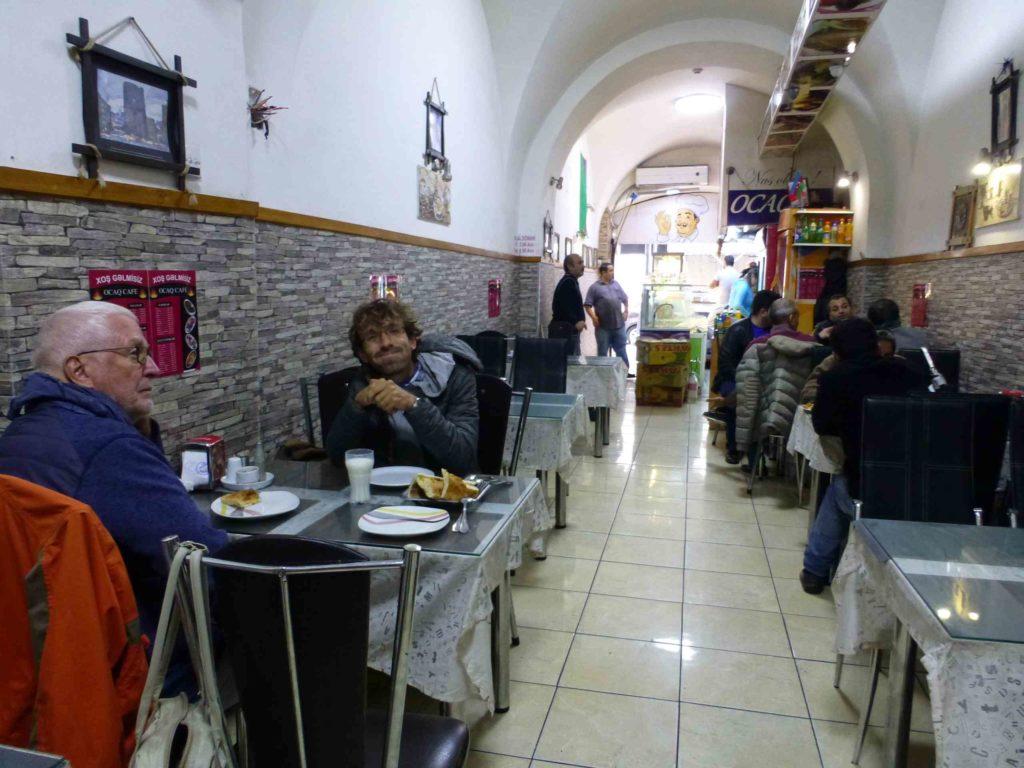 Обед в турецком кафе