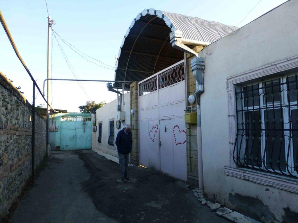 Ворота дома в тупике