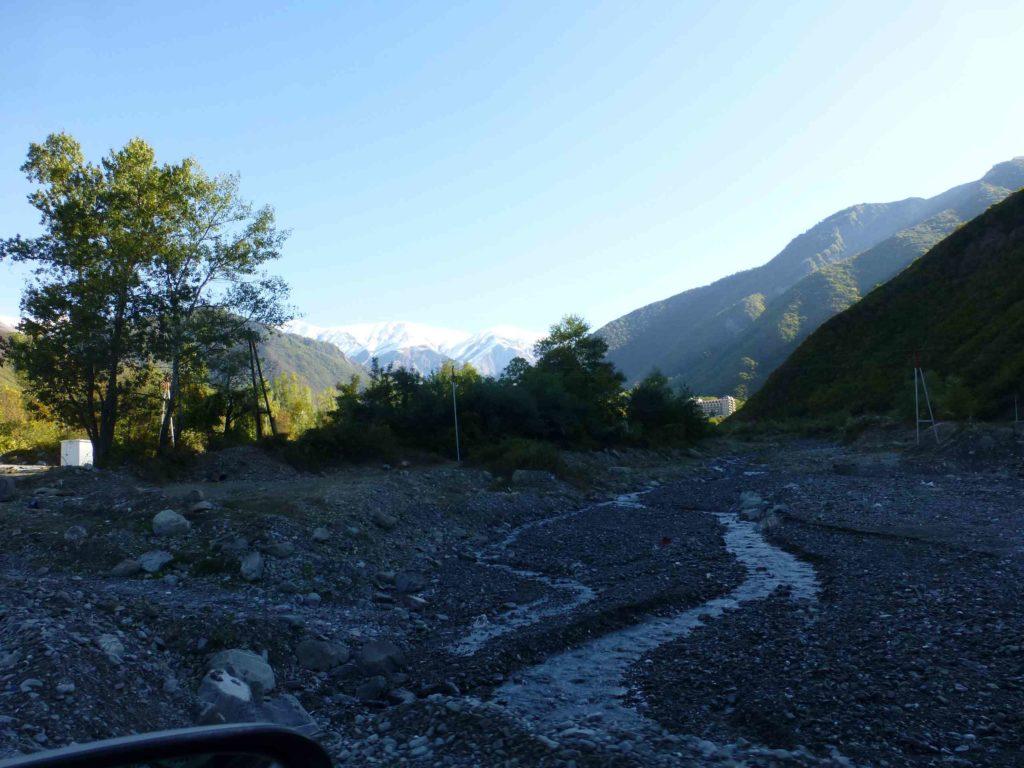 Возле села Киш