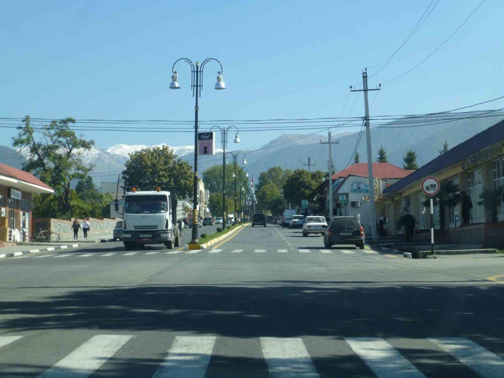 Улица в Гахе