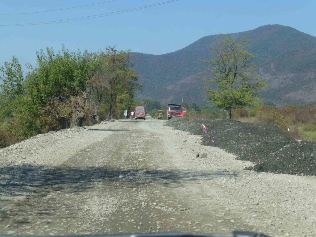 Дорога к грузинской границе