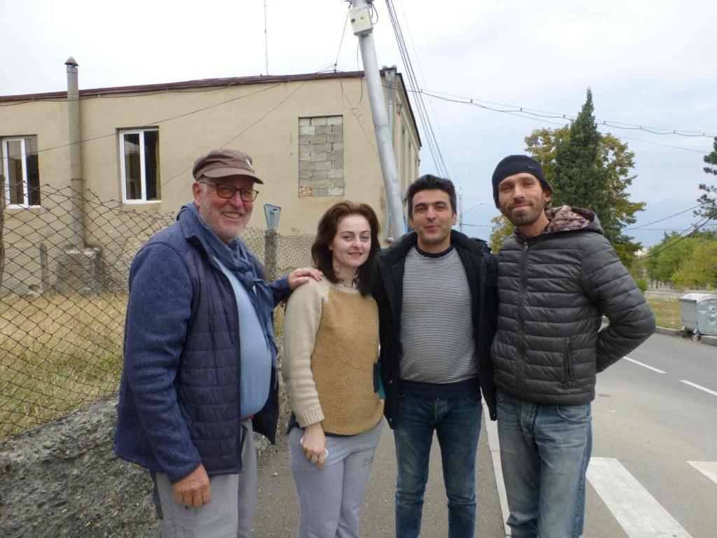 Фото с Сосо и Тамарой