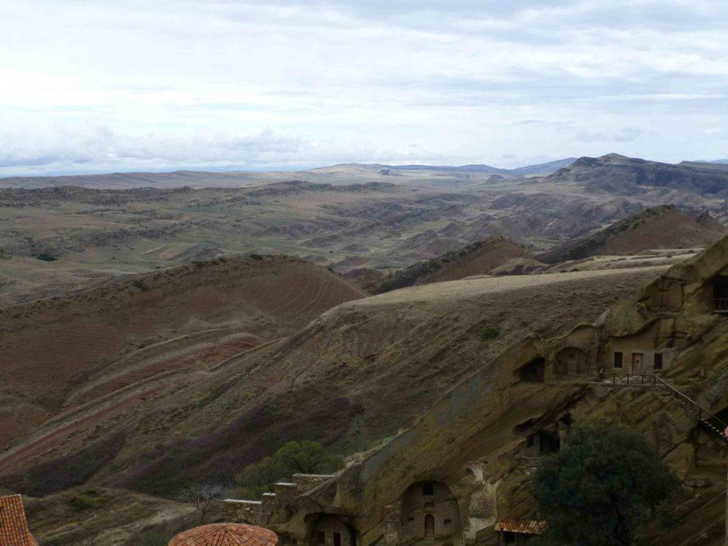 Вид на горы с монастыря