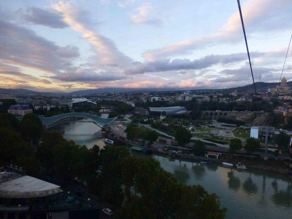 Центр Тбилиси вечером