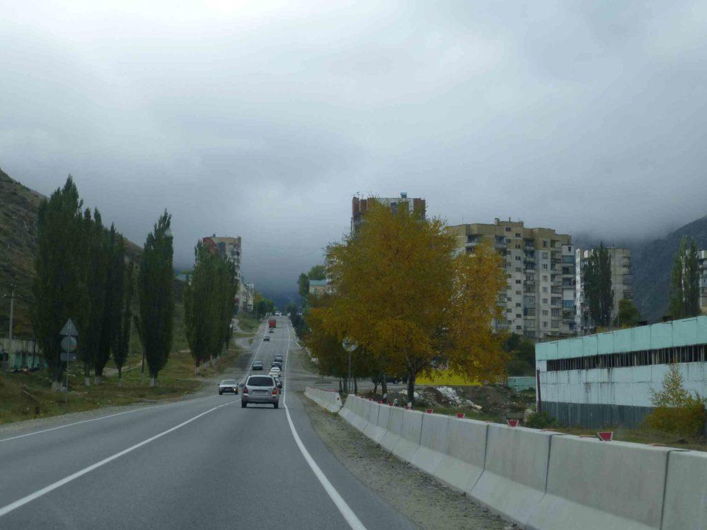 Дорога через город