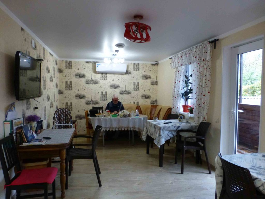 Столовая в хостеле